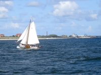 Segelboot vor Norderney